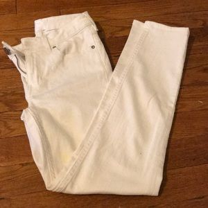 Acne studios white denim